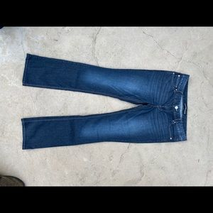 Express Jeans Barely boot cut Zelda ultra low rise